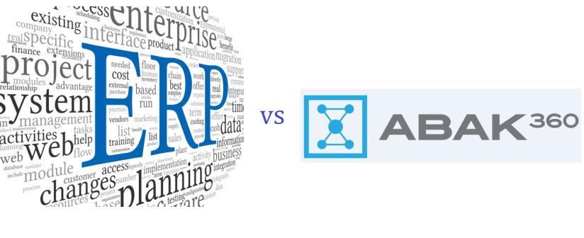 ERP vs Abak